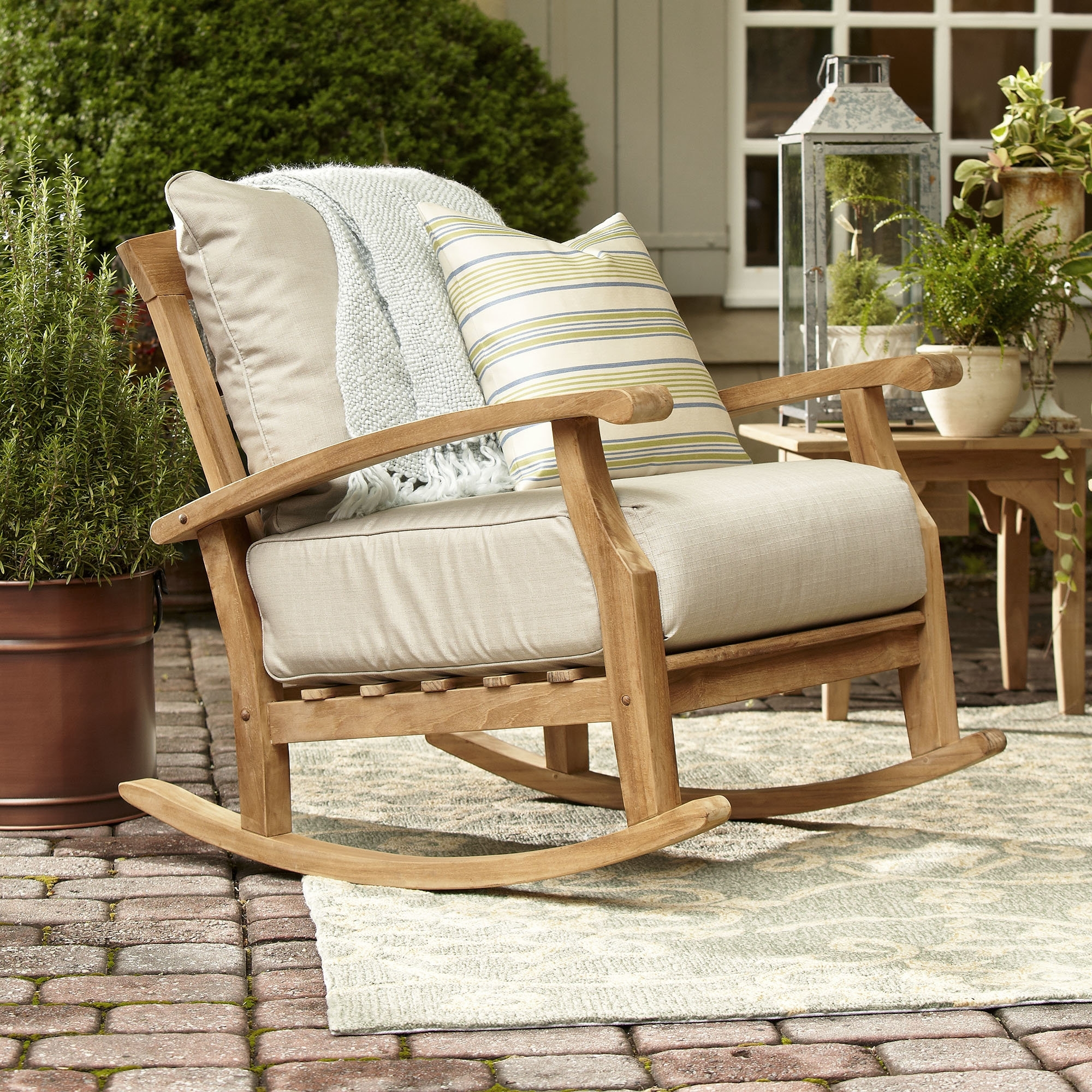 Birch Lane With Regard To Most Popular Teak Patio Rocking Chairs (View 7 of 15)