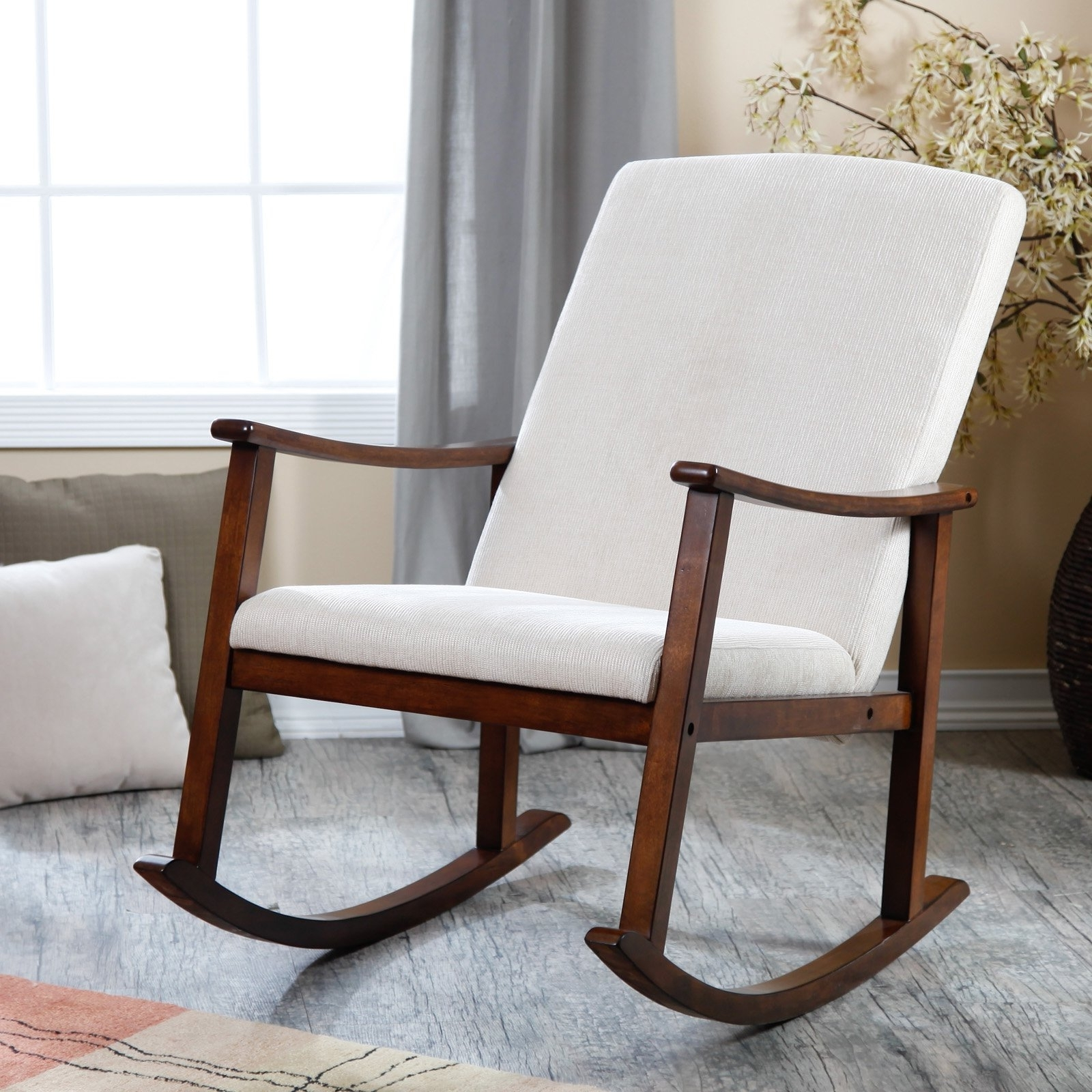 Chairs: Remarkable Beautiful Target Glider Chair Suitable For Your With Well Known Rocking Chairs For Nursing (View 4 of 15)