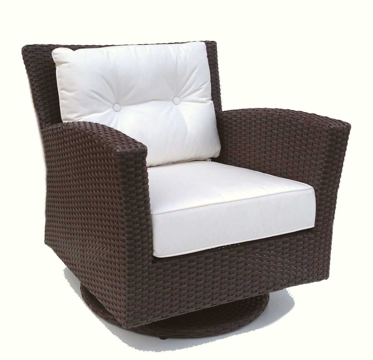 Current Outdoor Wicker Swivel Rocker Collection Also Beautiful Rocking With Patio Rocking Chairs With Ottoman (View 7 of 15)
