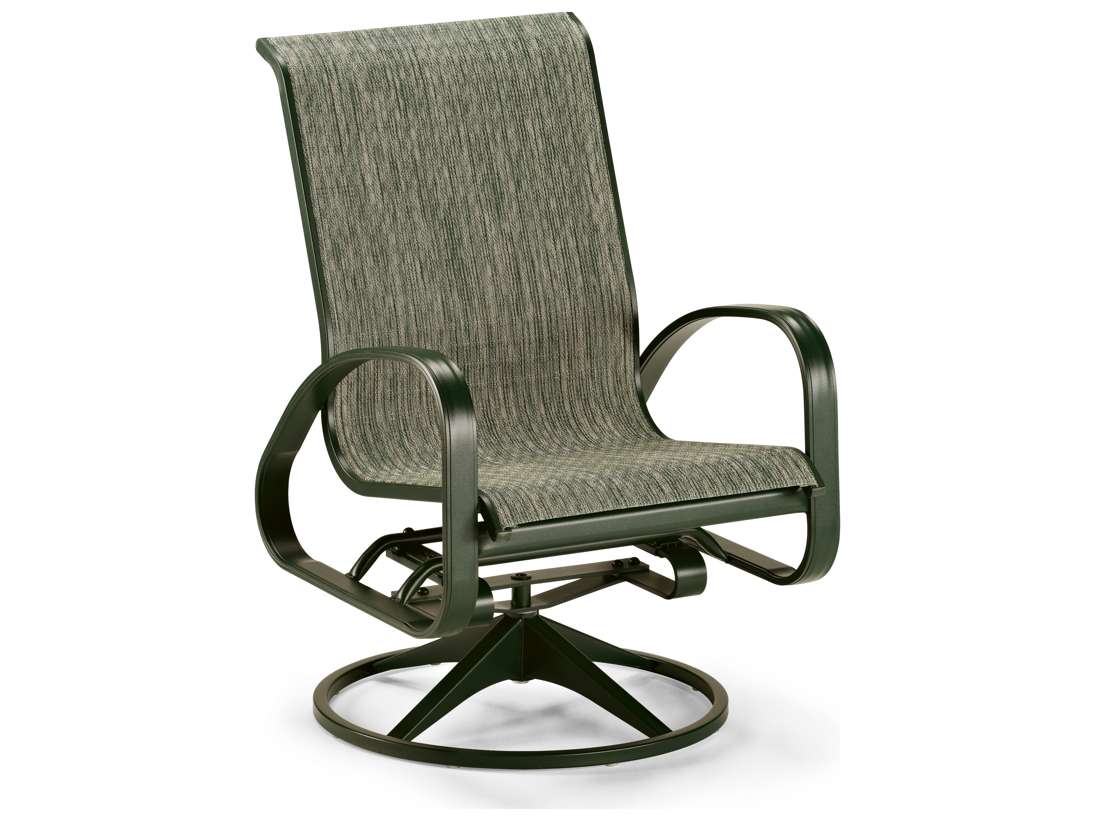 Famous Patio Sling Rocking Chairs Pertaining To Sling Patio Chairs & Outdoor Sling Chairs – Patioliving (View 10 of 15)