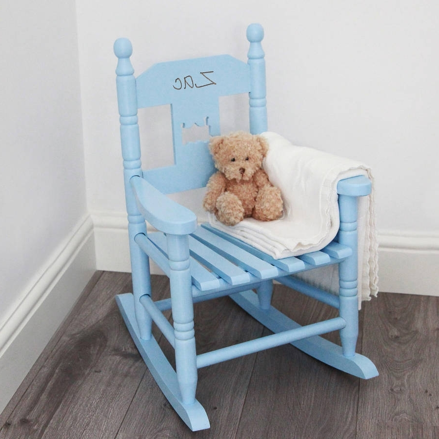Fashionable Personalised Child's Rocking Chairmy 1St Years Within Rocking Chairs For Babies (View 10 of 15)