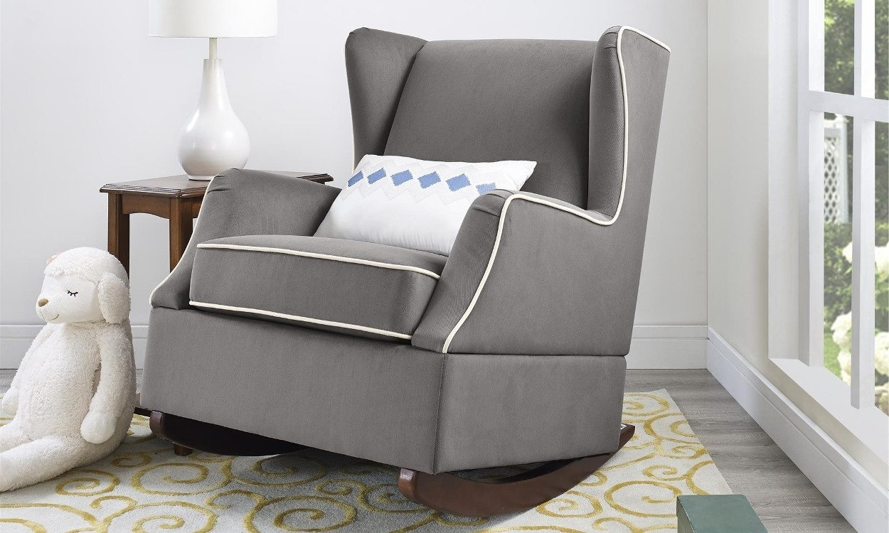 Favorite 4 Steps For Buying The Perfect Rocking Chair – Overstock Regarding Upholstered Rocking Chairs (View 6 of 15)
