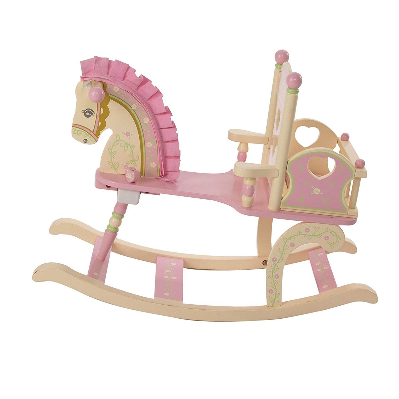 Favorite Amazon Rocking Chairs Regarding Amazon: Wildkin Carousel Rocking Horse: Toys & Games (View 13 of 15)