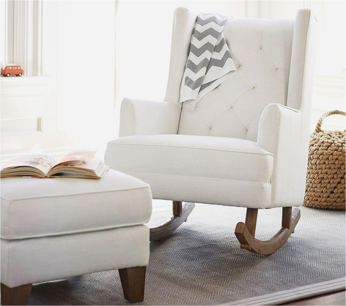 Favorite Pottery Barn Rocking Chair Contemporary Stunning Baby Furniture Inside Rocking Chairs For Nursery (View 6 of 15)