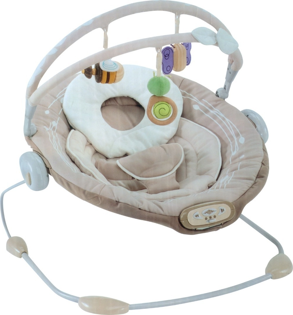 Free Shipping Sweet Comfort Musical Vibrating Baby Bouncer Chair For Widely Used Rocking Chairs For Babies (View 12 of 15)