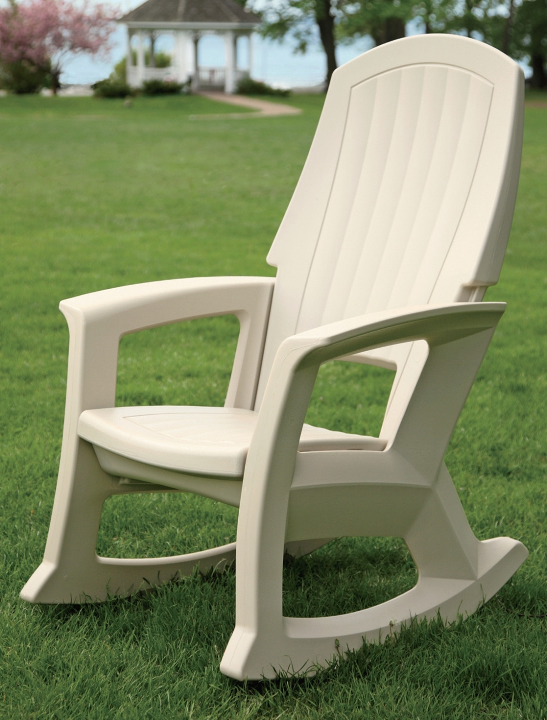 Furniture: Front Porch Rocking Chairs For Comfortable Outdoor Chair In Widely Used Rocking Chairs For Patio (View 10 of 15)
