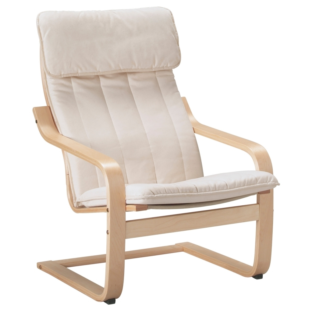 Furniture: Ikea Rocking Chair Elegant Poã Ng Armchair Ransta Natural Intended For Fashionable Ikea Rocking Chairs (View 12 of 15)