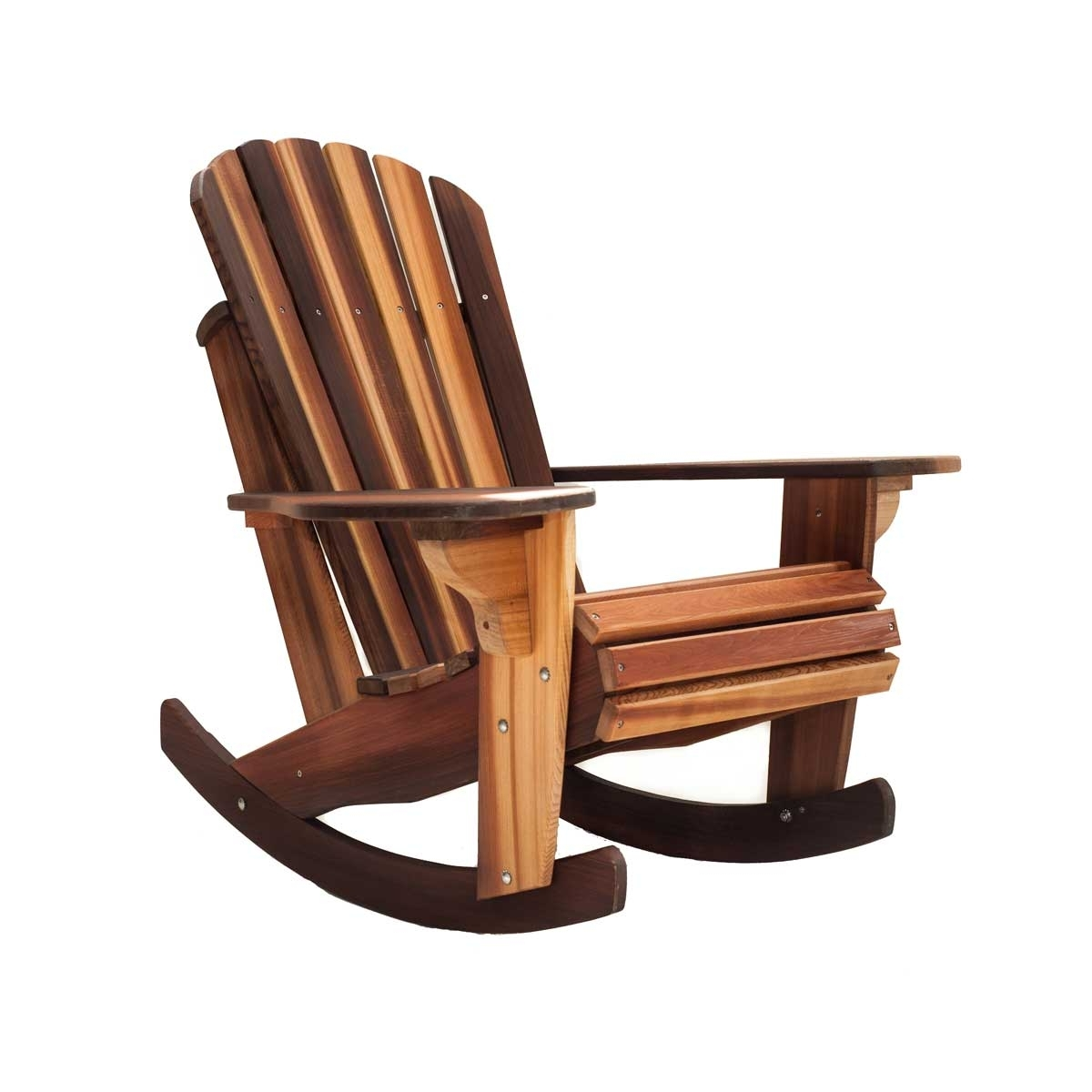Handcrafted Adirondack Cedar Rocker Chairs & Adirondack Cedar In Well Known Rocking Chairs (View 5 of 15)