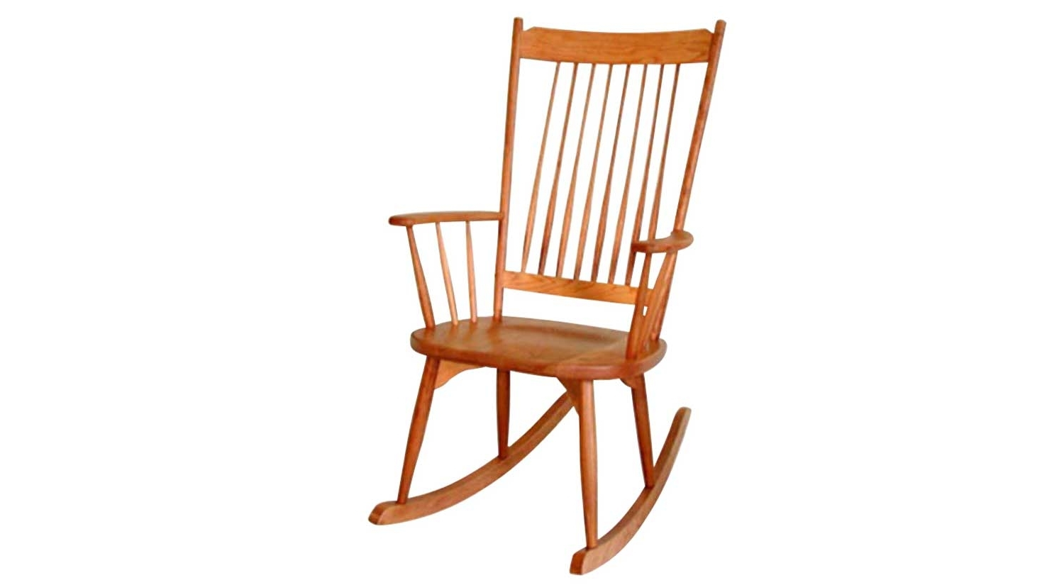 High Back Rocking Chairs Pertaining To Latest Circle Furniture – Highback Rocker (View 6 of 15)
