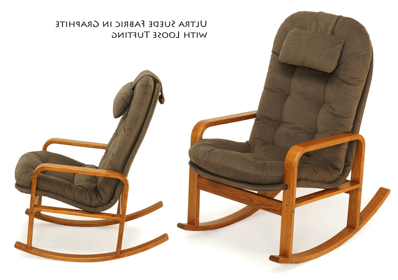 High Back Rocking Chairs With Regard To Favorite Rocking Chairs For Every Body – Brigger Furniture (View 2 of 15)