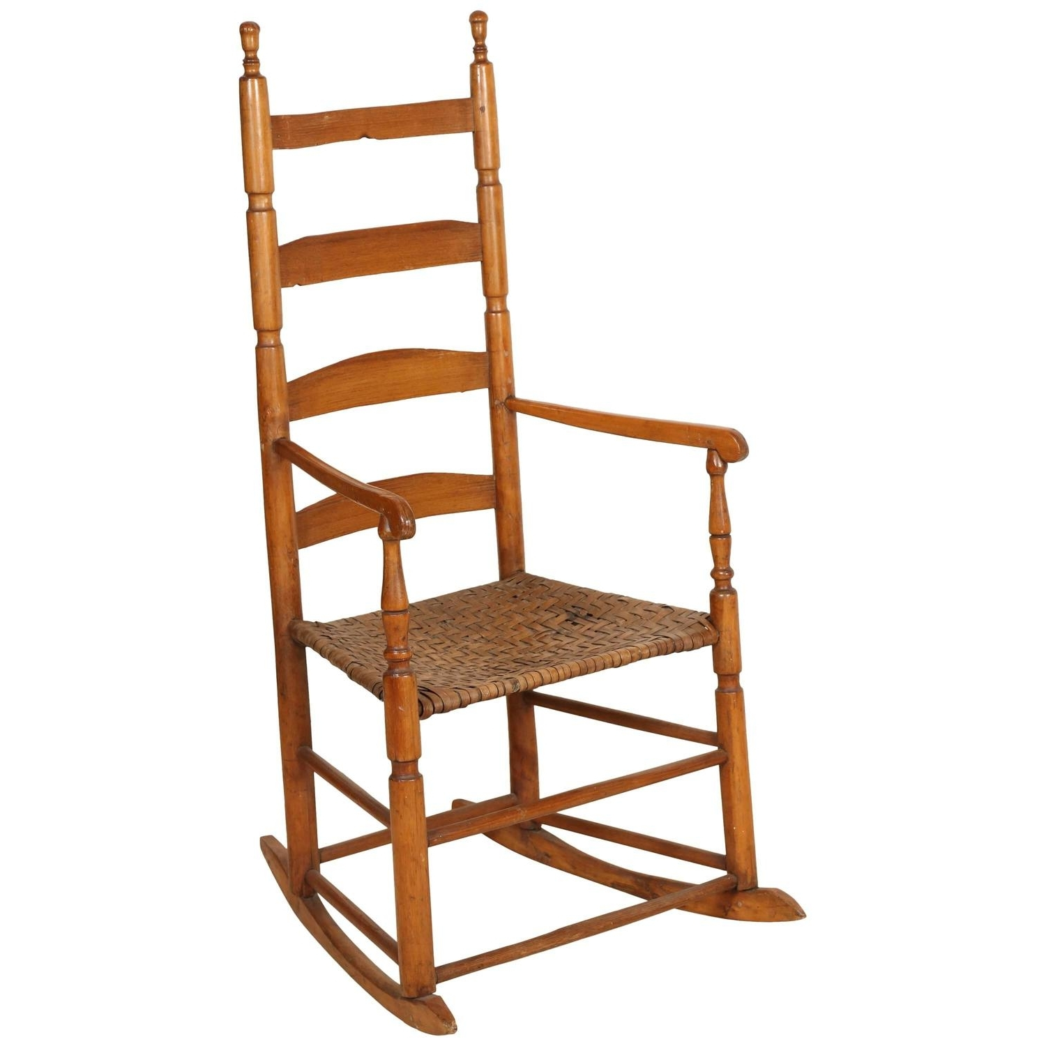 Ladder High Back Rocking Chair For Sale At 1stdibs Within Well Known High Back Rocking Chairs (View 4 of 15)
