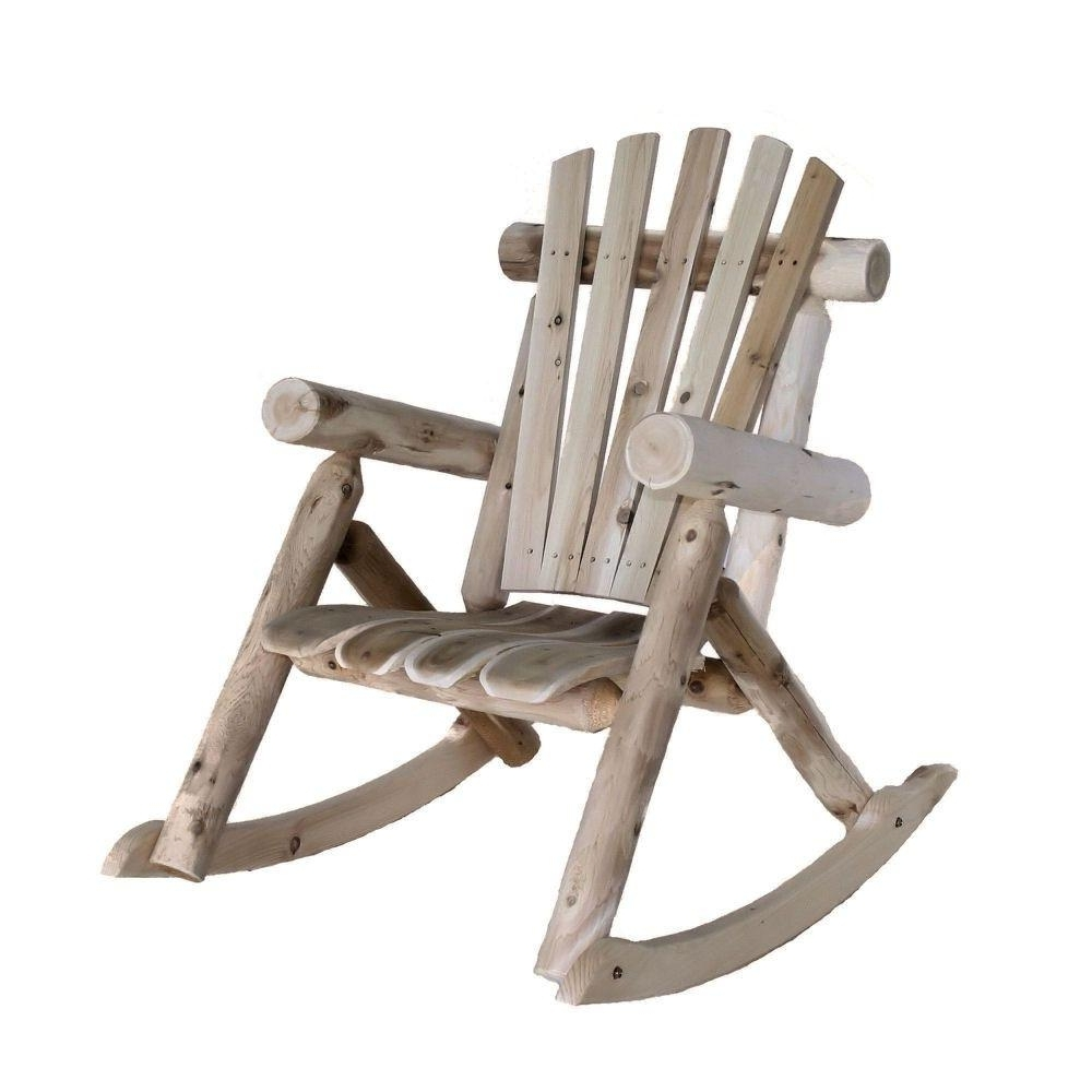 Lakeland Mills Patio Rocking Chair Cf1125 – The Home Depot Regarding Recent Patio Wooden Rocking Chairs (View 7 of 15)