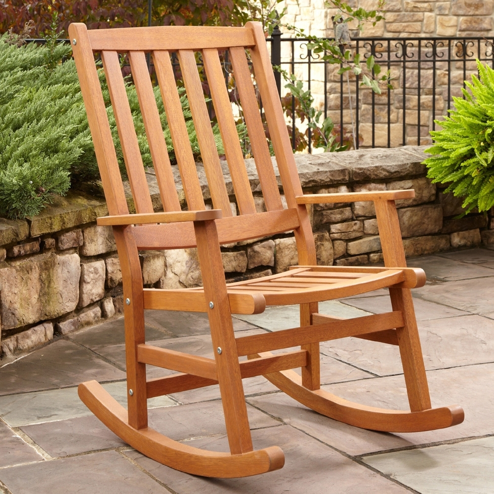 Latest Rocking Chairs For Outdoors Pertaining To A Guide To Find The Right Outdoor Rocking Chair For Your House (View 2 of 15)