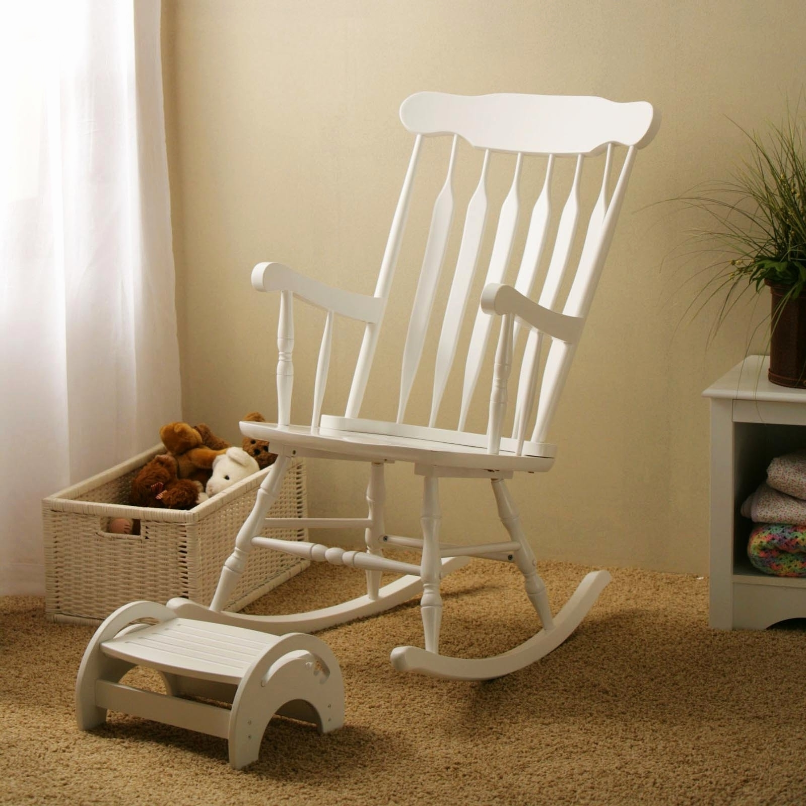Latest White Wicker Rocking Chair For Nursery Within Luxury Wicker Rocking Chair Graphics Home Improvement Lovely (View 3 of 15)