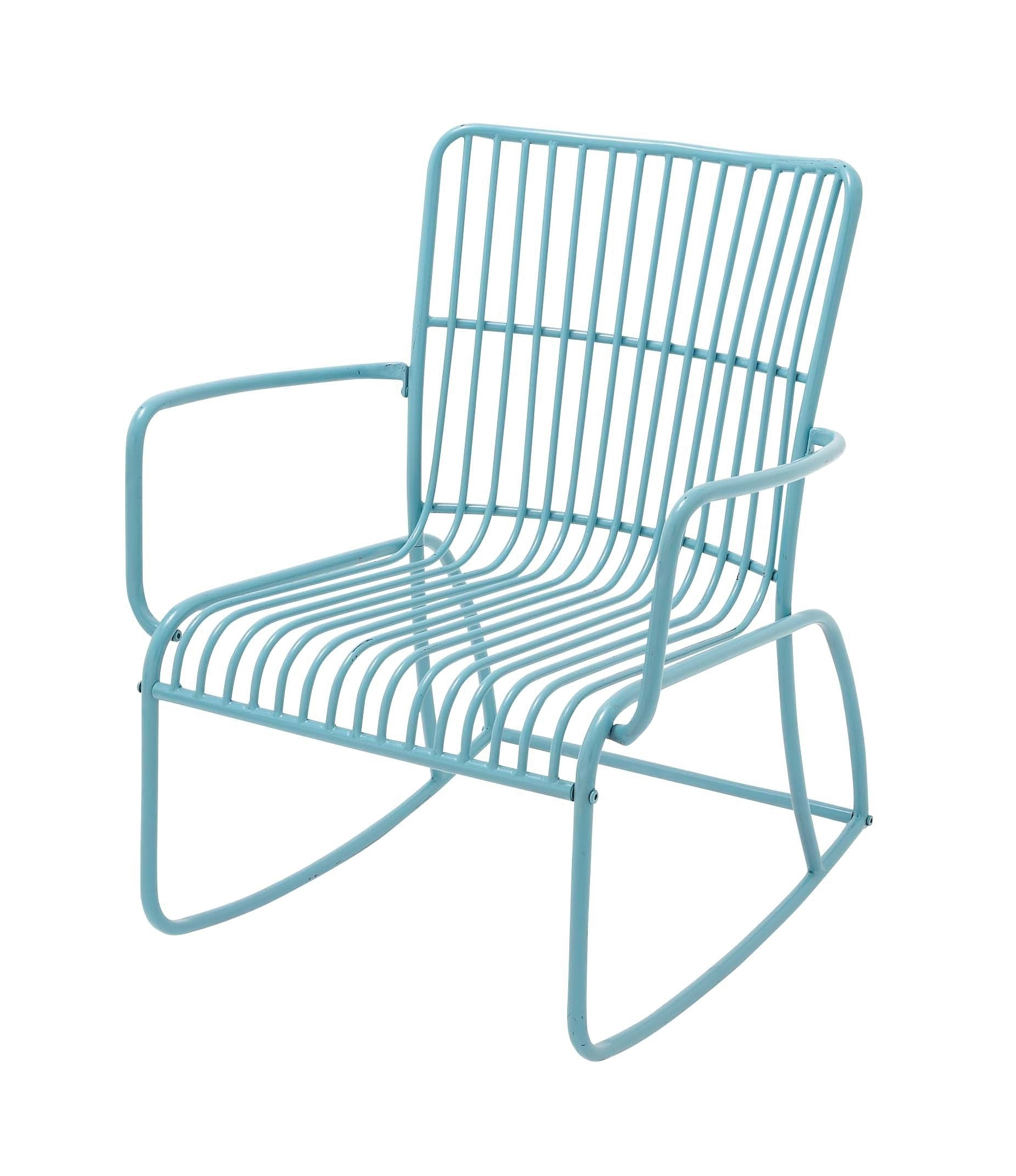 Metal Outdoor Rocking Chair For Fashionable Vintage Metal Rocking Patio Chairs (View 6 of 15)