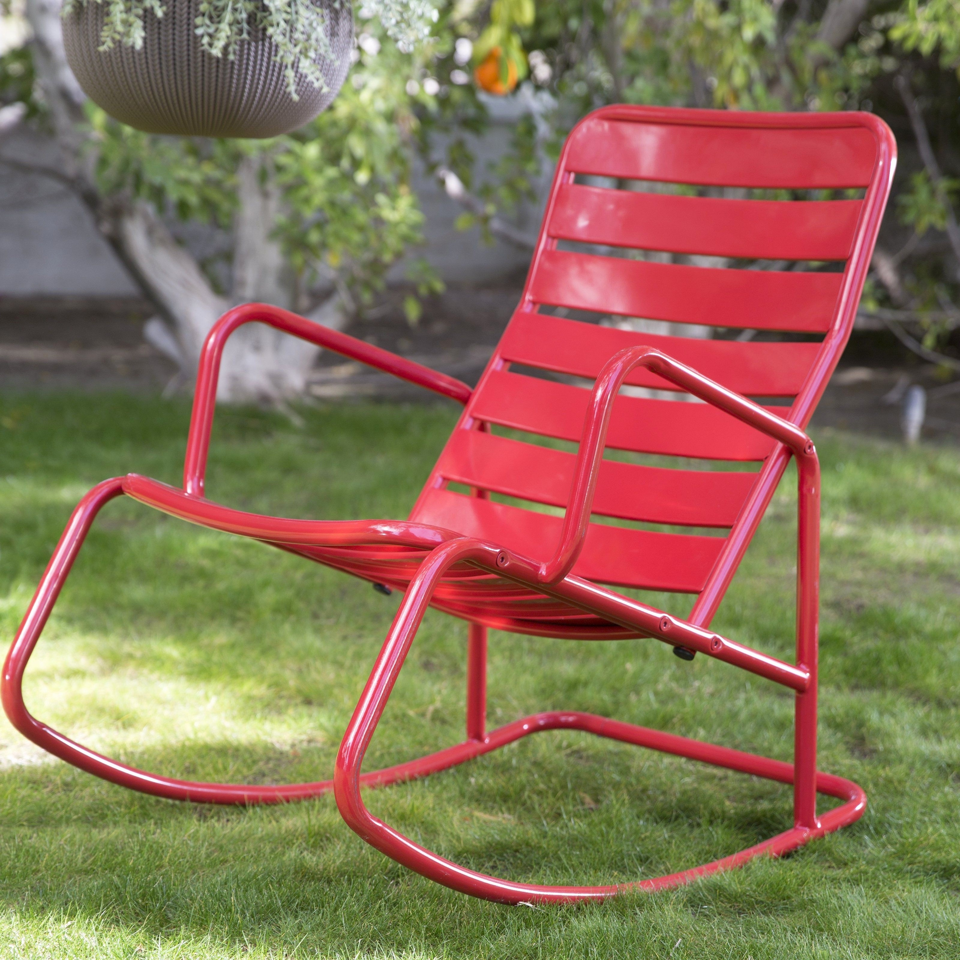 Metal Patio Rocking Chairs Elegant Wicker Patio Rocker Best Outdoor Regarding Well Liked Patio Metal Rocking Chairs (View 4 of 15)