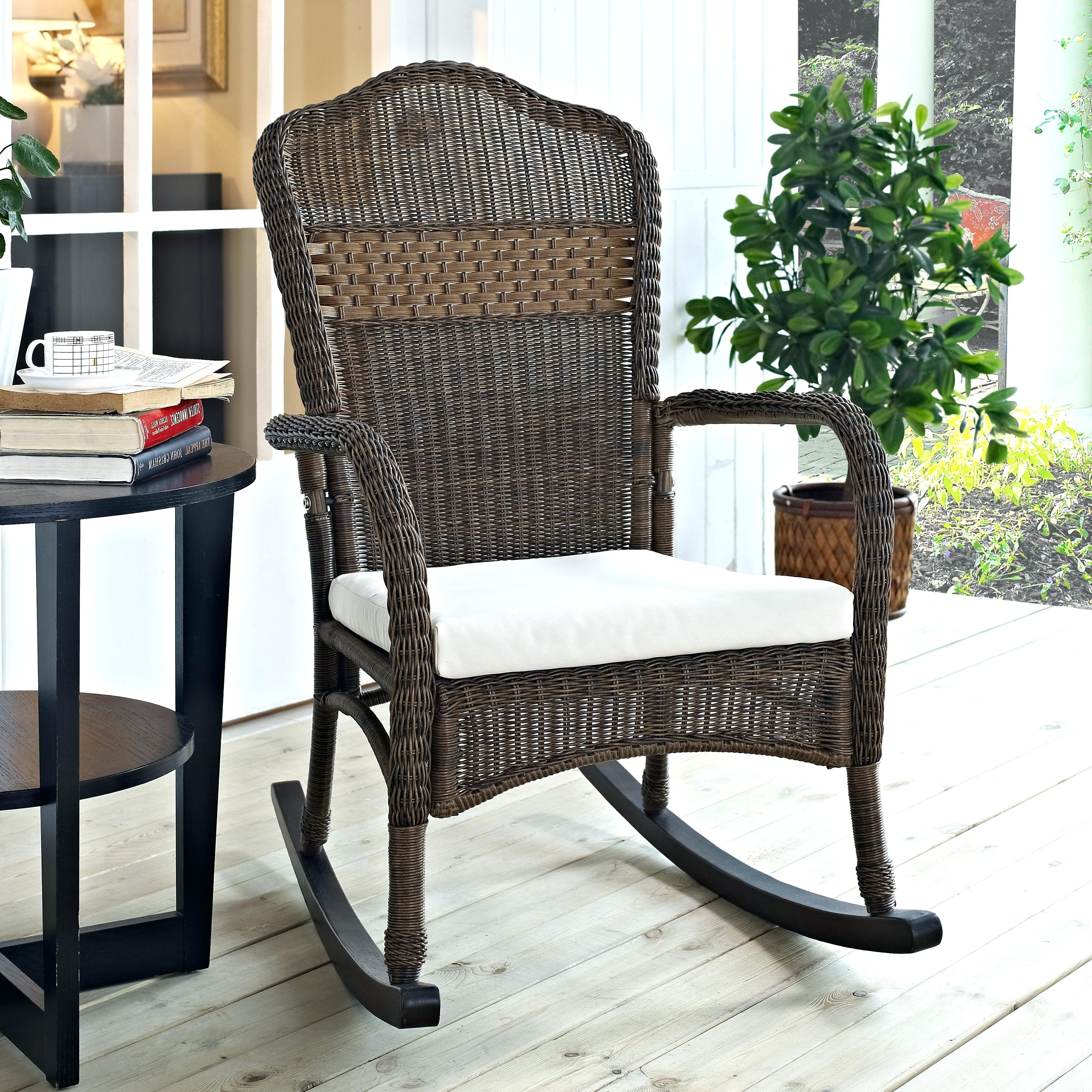 Modern Outdoor Rocking Chair Modern Outdoor Rocking Chairs Dining Intended For 2017 Outdoor Rocking Chairs With Table (View 13 of 15)