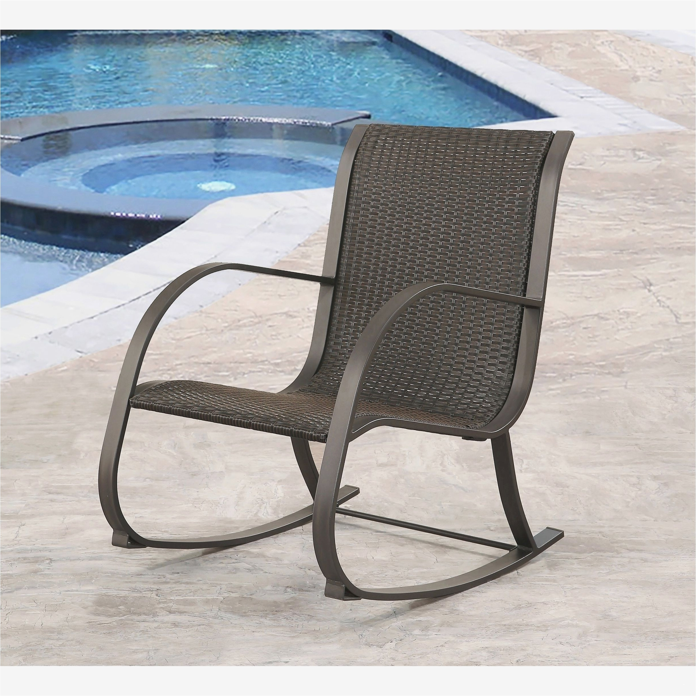 Modern Patio Rocking Chairs Intended For Popular Awesome Rocking Chairs Patio Furniture Bellevuelittletheatre Ideas (View 8 of 15)