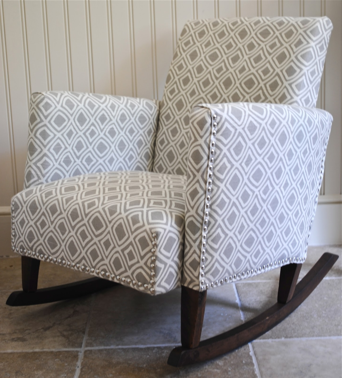 Most Current Diy}Ish Upholstered Child's Rocking Chair – The Chronicles Of Home In Upholstered Rocking Chairs (View 10 of 15)