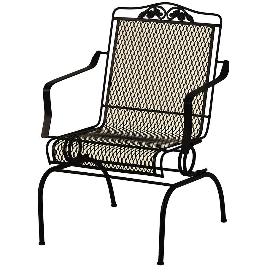Most Current Iron Rocking Patio Chairs New Top 10 Best Wrought – Arelisapril Inside Iron Rocking Patio Chairs (View 8 of 15)
