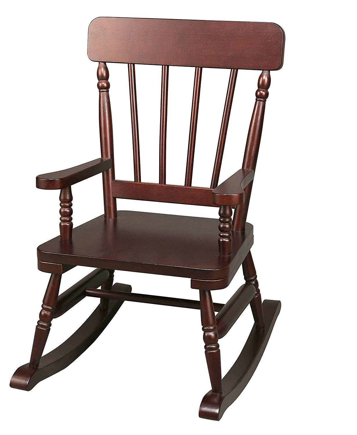 Most Current Old Fashioned Rocking Chairs With Regard To Amazon: Wildkin Emerson Espresso Rocking Chair: Toys & Games (View 4 of 15)