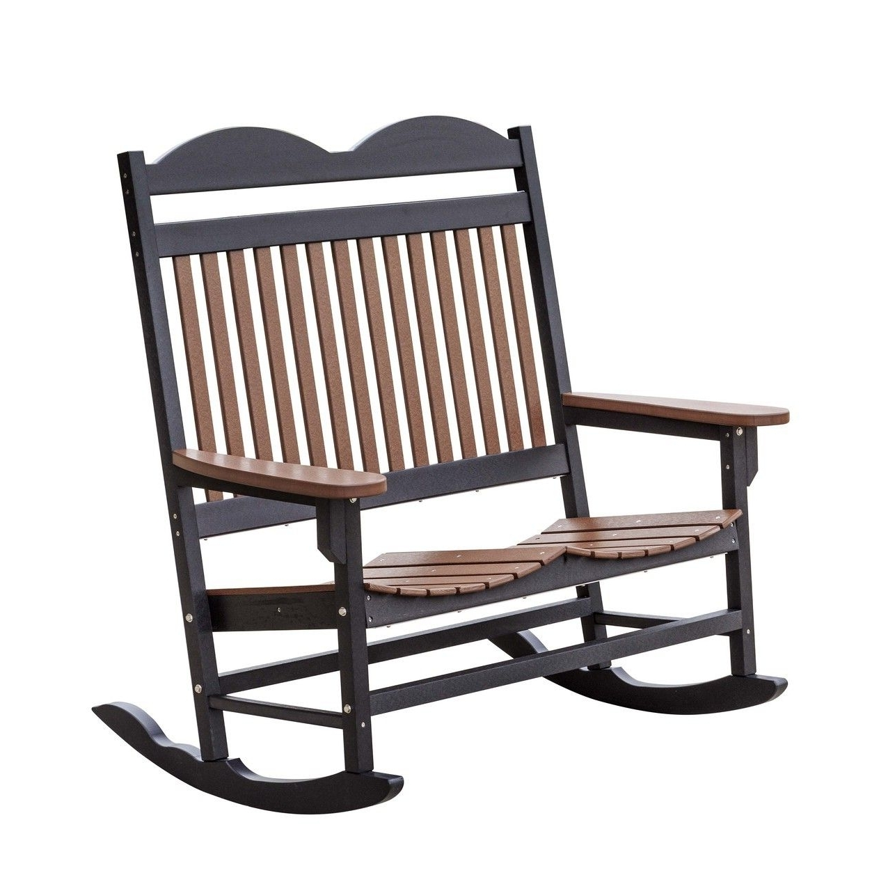Most Current Weather Resistant Outdoor Double Rocker (View 11 of 15)