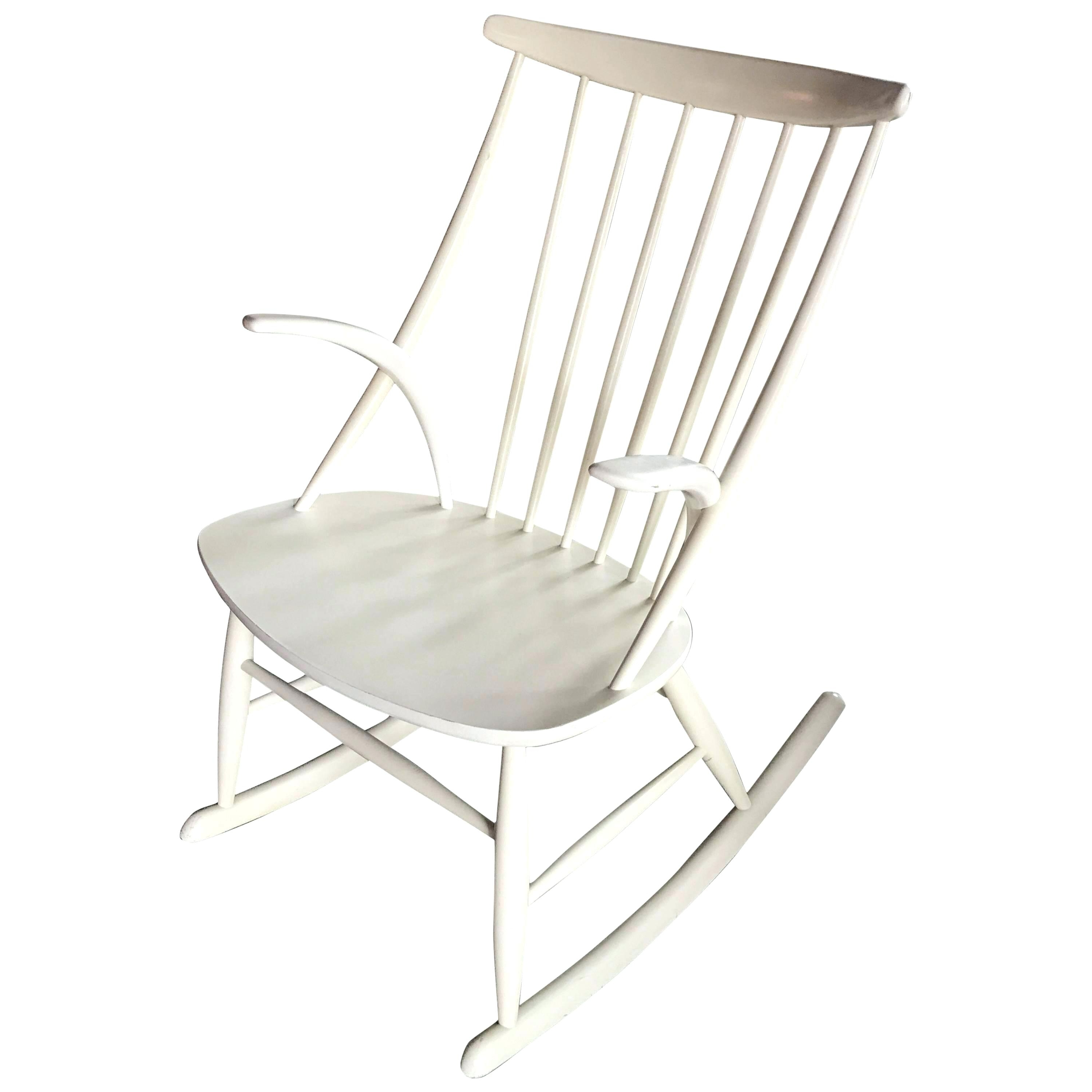 Most Current White Rocking Chair White Rocking Chair Rocker White Wooden Rocking For White Wicker Rocking Chair For Nursery (View 11 of 15)
