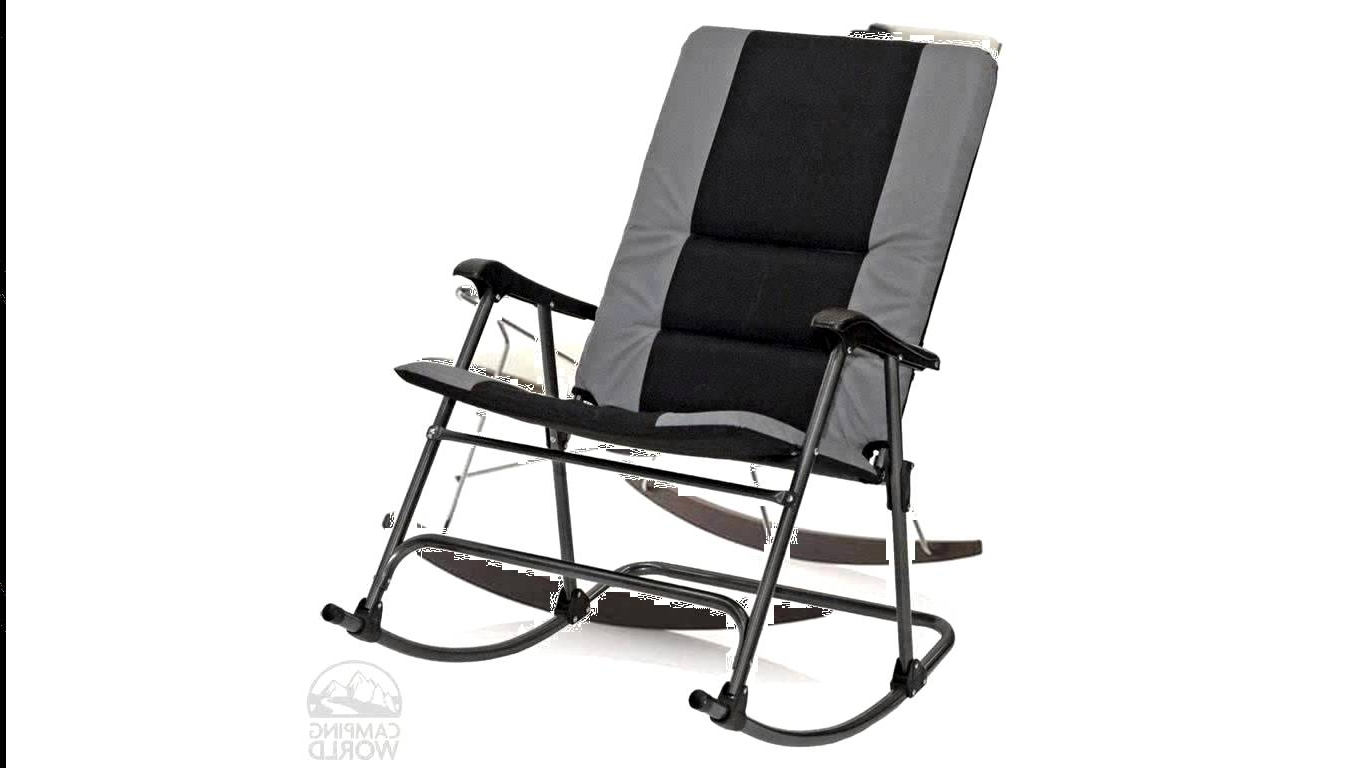 Most Popular Padded Patio Rocking Chairs With Regard To Cute Extraordinary Tall Patio Chairs Folding Rocking Chair Foldable (View 10 of 15)
