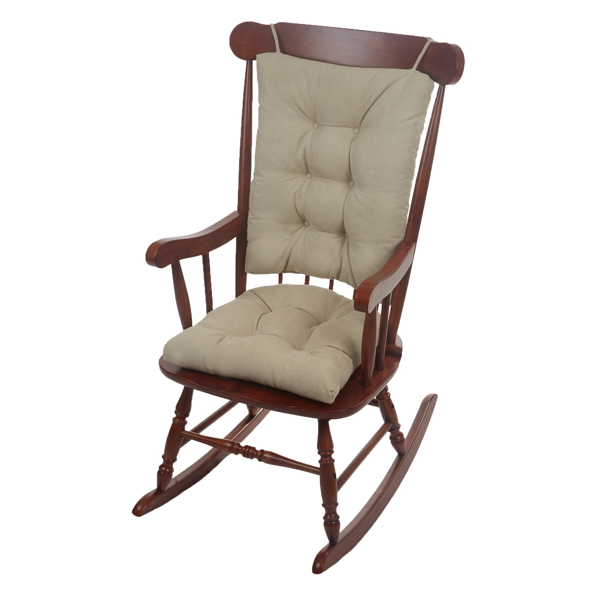 Most Recent Rocking Chairs At Wayfair Throughout Wayfair Basics™ Wayfair Basics Rocking Chair Cushion & Reviews (View 2 of 15)