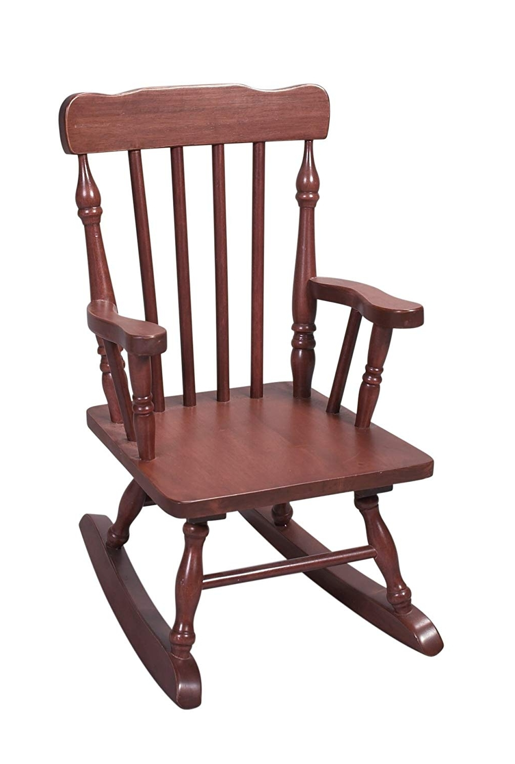 Most Recent Rocking Chairs With Amazon: Gift Mark Child's Colonial Rocking Chair, Cherry (View 7 of 15)