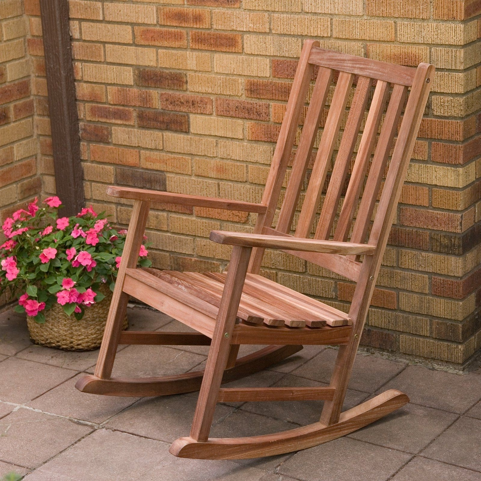 Most Recent Wood Patio Rocking Chairs Lovely Have To Have It Richmond Heavy Duty For Brown Patio Rocking Chairs (View 13 of 15)
