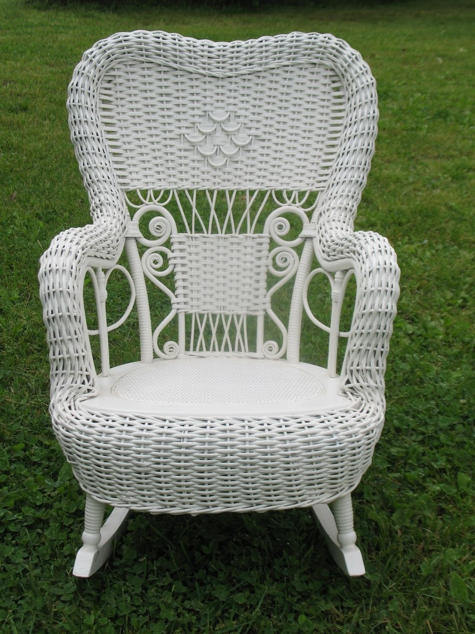 Most Recently Released Antique Wicker Furniture Prices – Image Antique And Candle Pertaining To Antique Wicker Rocking Chairs (View 9 of 15)