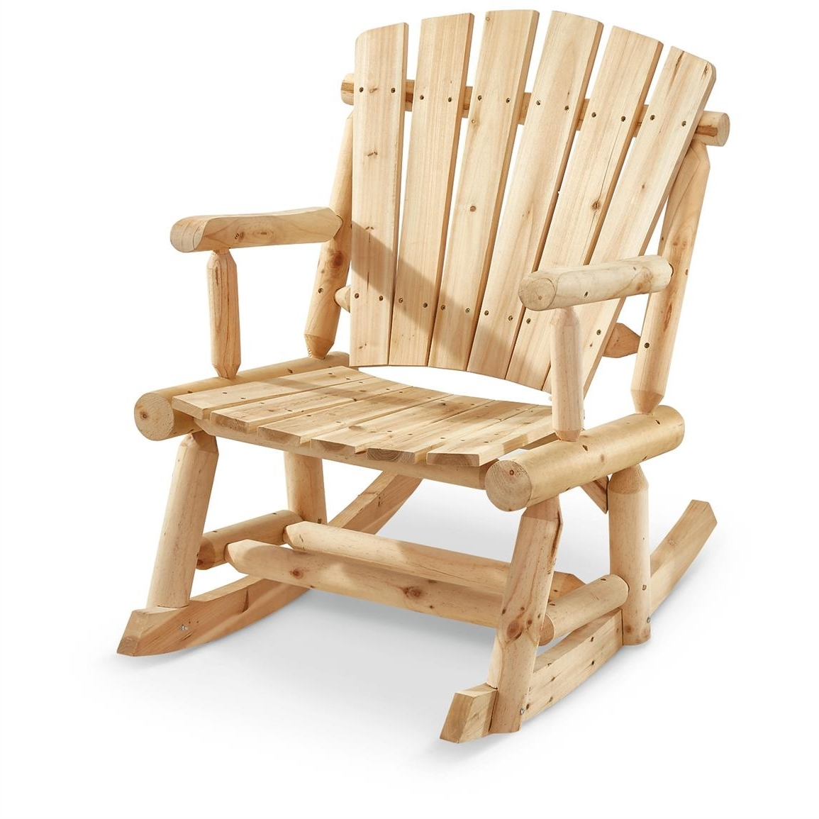 Most Recently Released Castlecreek Oversized Adirondack Rocking Chair – 657797, Patio Intended For Oversized Patio Rocking Chairs (View 3 of 15)