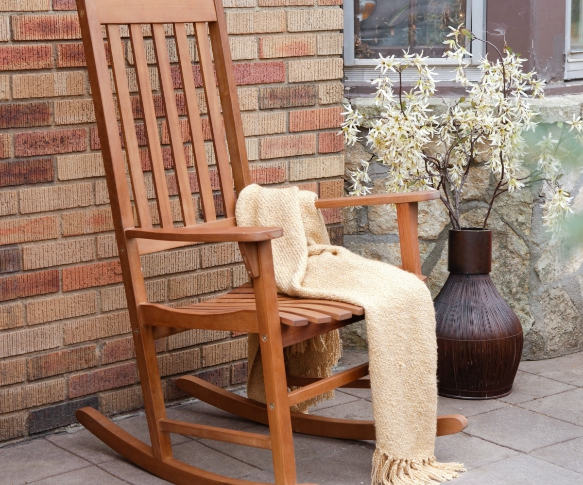 Most Up To Date Patio Rocking Chair Ideas Relaxing Furniture — All Modern Rocking Chairs With Regard To Brown Patio Rocking Chairs (View 8 of 15)