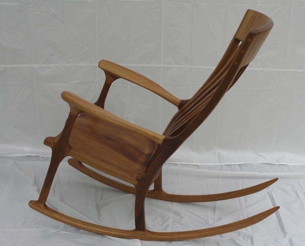 Most Up To Date Rocking Chairs With Lumbar Support Inside Teak Rocking Chair Ideas — Gonzo Alonso Design : Reusing Teak (View 3 of 15)