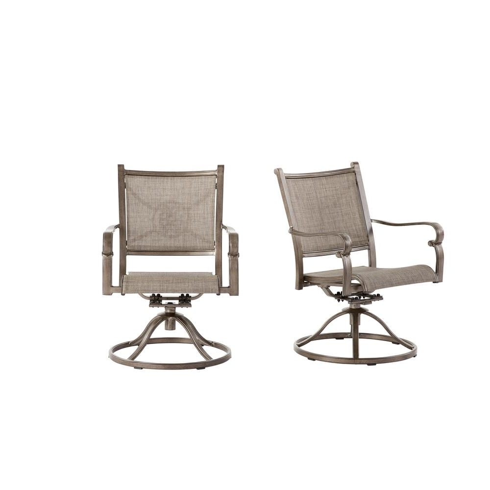 Newest Aluminum Patio Rocking Chairs Pertaining To Home Decorators Collection Home Decorators Collection Wilshire (View 9 of 15)