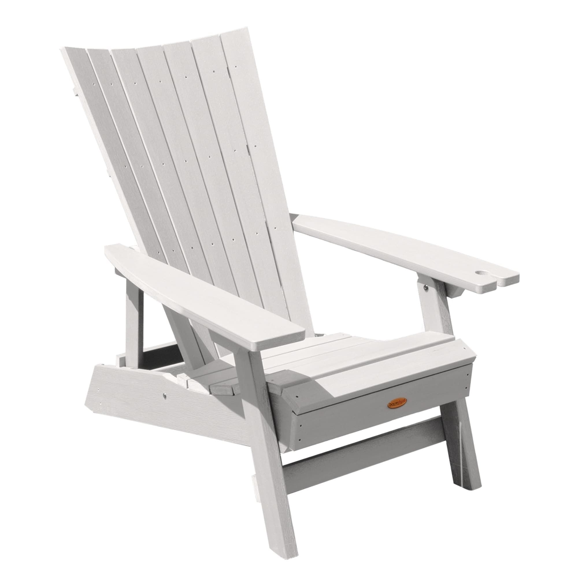 Newest Highwood Manhattan Beach Adirondack Chair With Wine Glass Holder With Regard To Manhattan Patio Grey Rocking Chairs (View 14 of 15)
