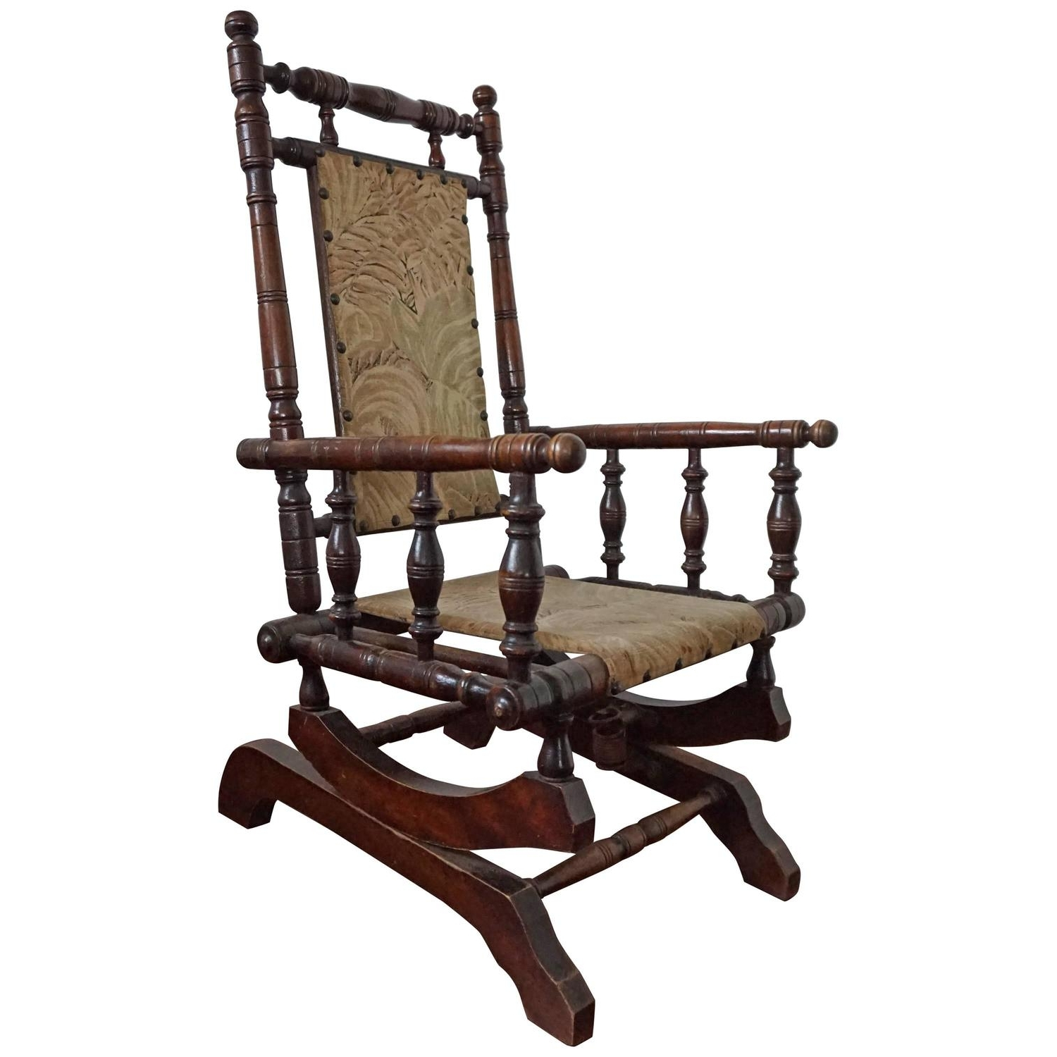 Newest Rare Antique Rocking Chair For Children American Rocker For Child Or In Antique Rocking Chairs (View 1 of 15)