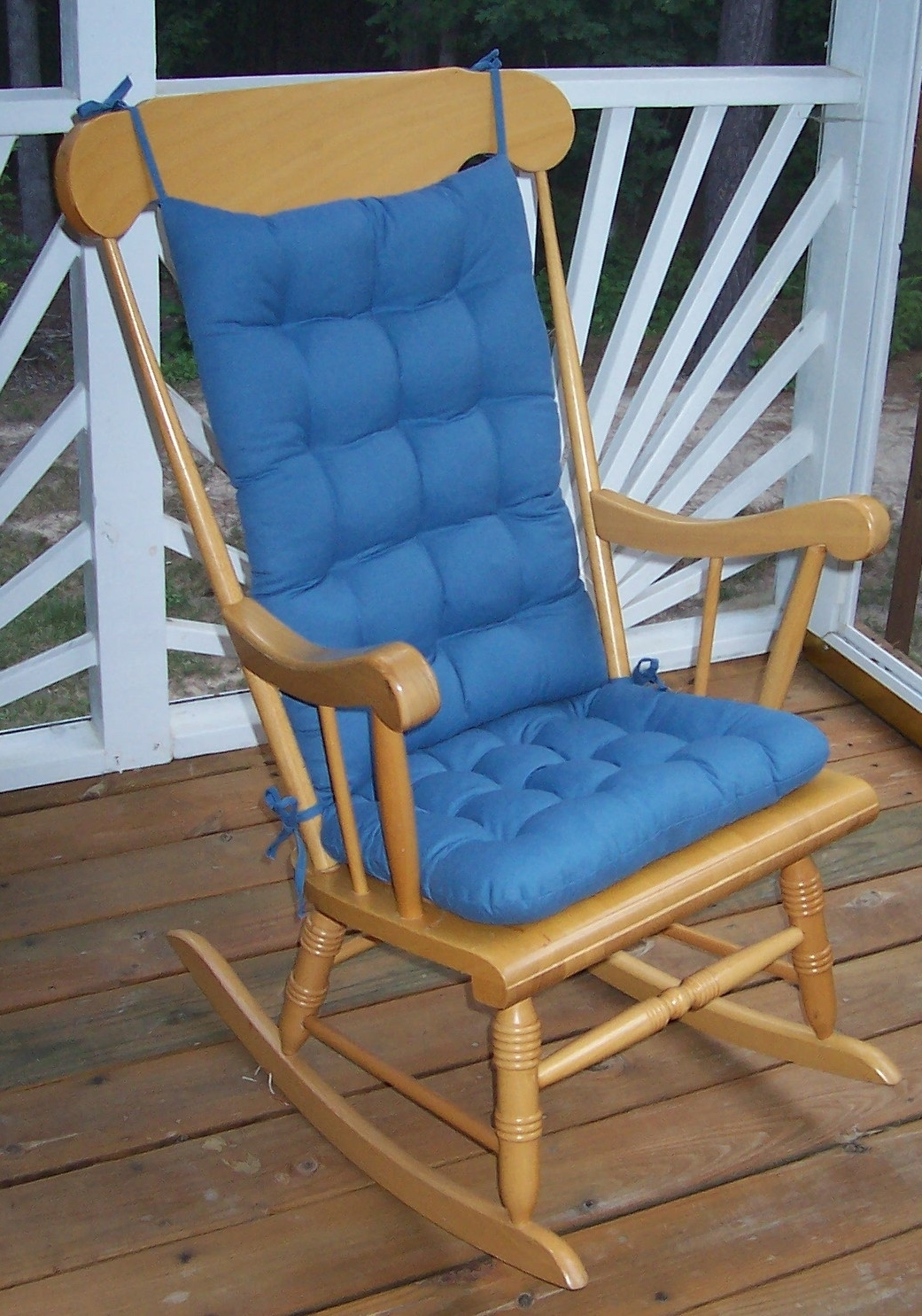 Newest Rocking Chair Cushion Sets And More – Clearance!! Intended For Rocking Chair Cushions For Outdoor (View 5 of 15)