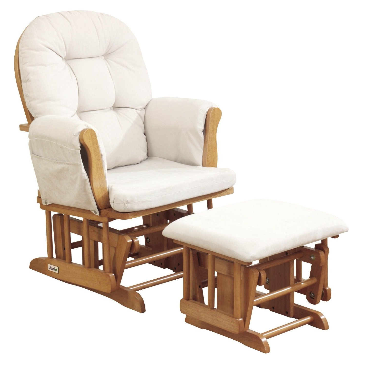 Newest Rocking Chairs With Footstool For Furniture: Glider Rocking Chair On Sale (View 11 of 15)