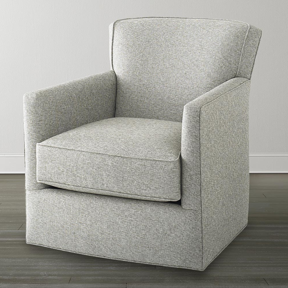 Off White Swivel Glider Chair In Most Recent Swivel Rocking Chairs (View 3 of 15)