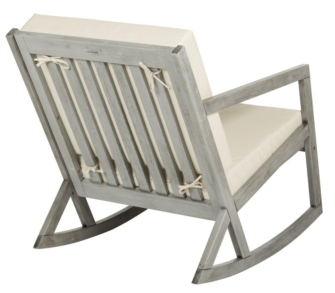 Outdoor Rocker – Safavieh Regarding Preferred Oversized Patio Rocking Chairs (View 6 of 15)