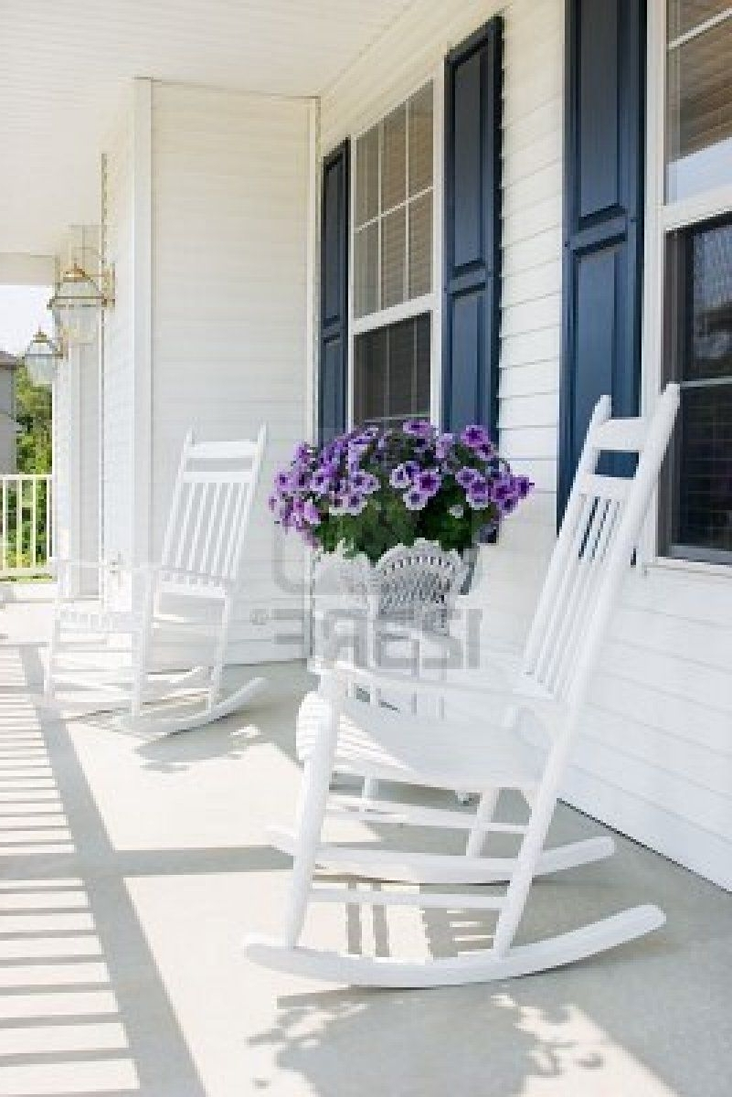 Outdoor Spaces For The For Rocking Chairs For Front Porch (View 7 of 15)