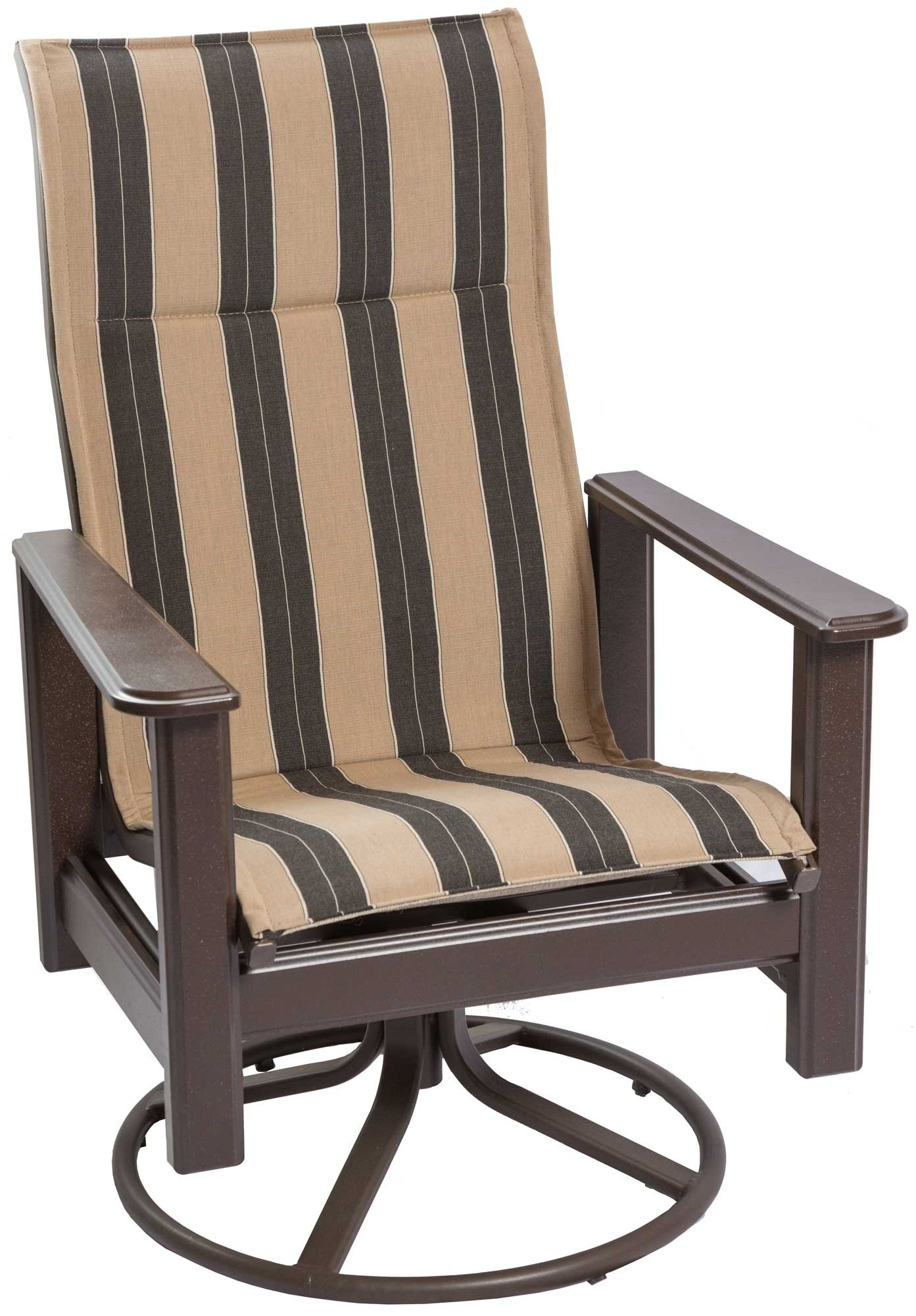 Outdoor Swivel Rocking Chair Throughout High Back Rocking Chairs (View 13 of 15)