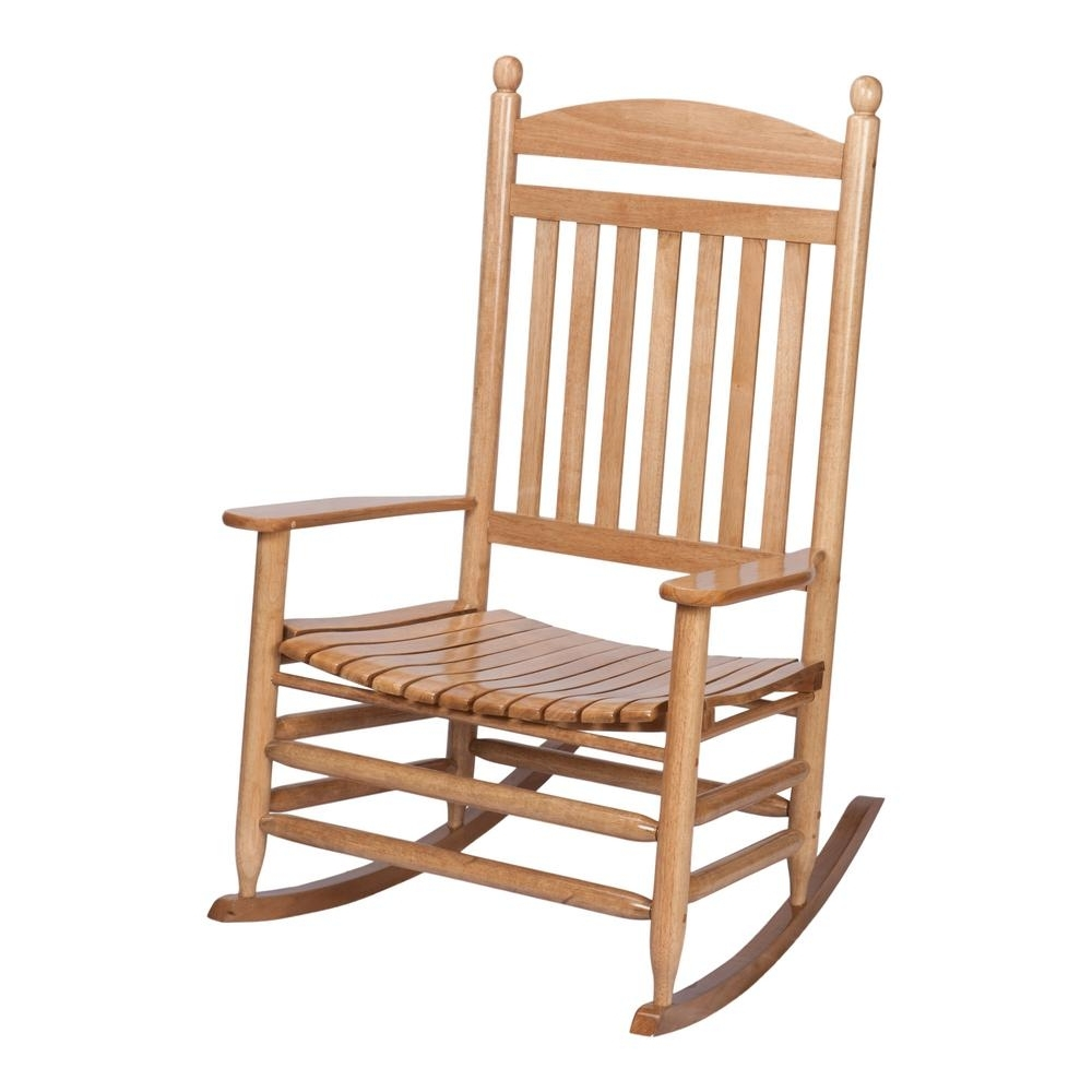 Oversized Patio Rocking Chairs Within 2018 Bradley Maple Jumbo Slat Wood Outdoor Patio Rocking Chair 1200Sm Rta (View 10 of 15)