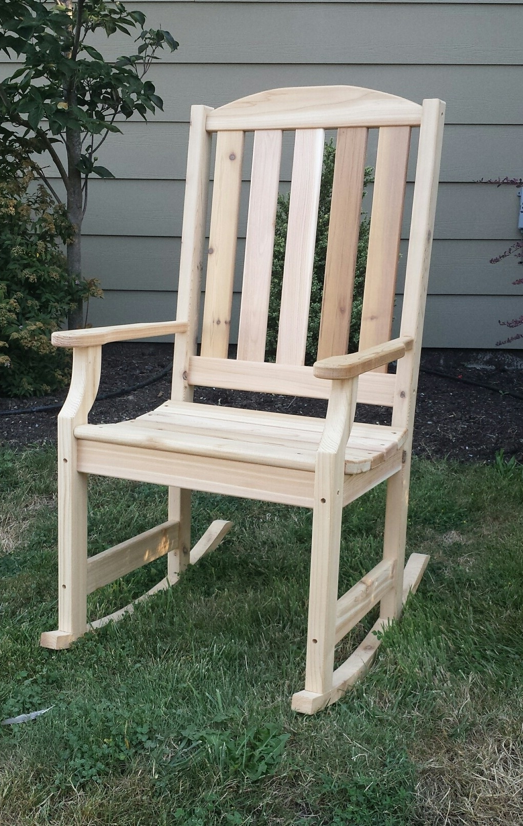 Patio Furniture Rocking Chair Painted Adirondack Chairs (View 9 of 15)