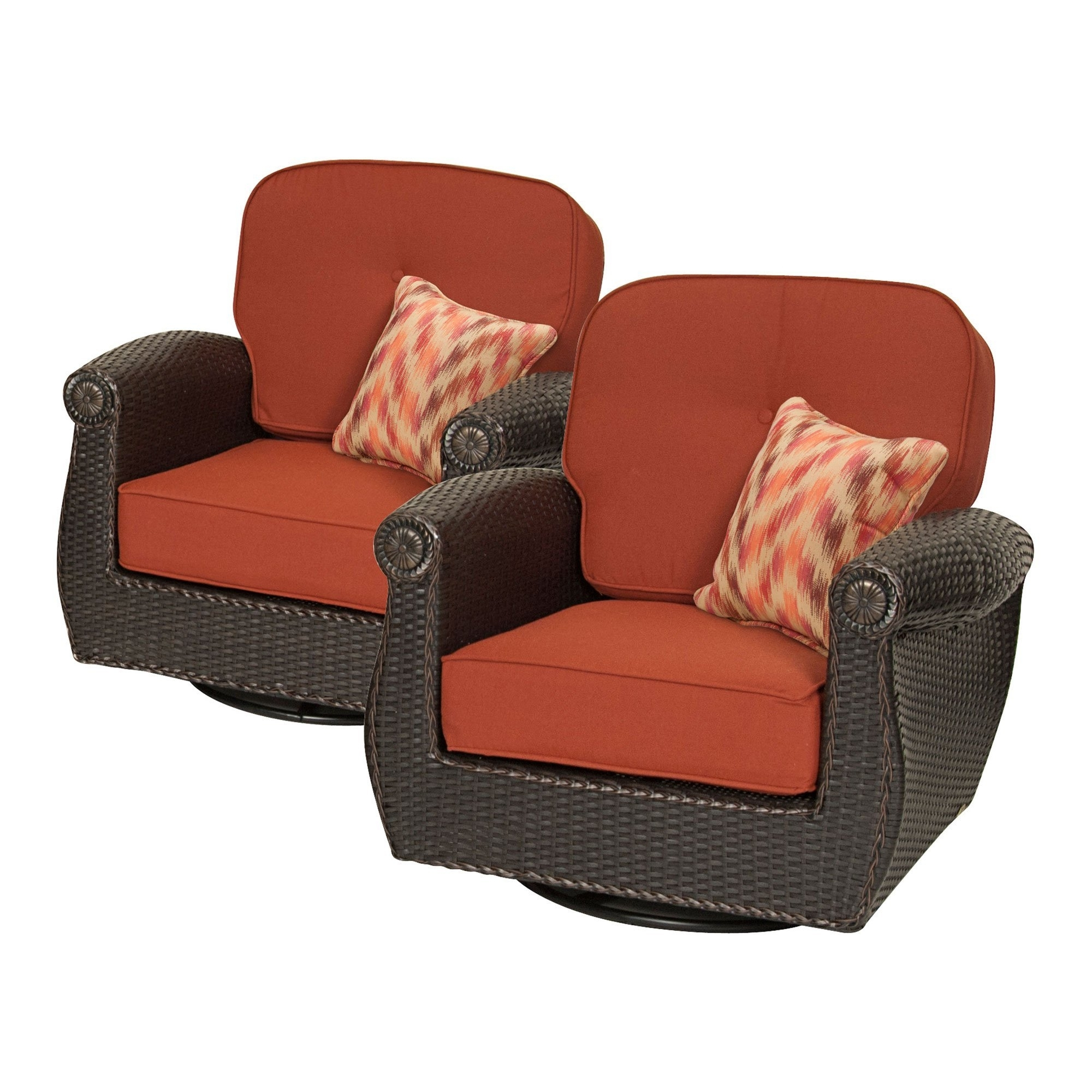 Patio Rocking Swivel Chairs For Trendy Design Of Patio Swivel Chairs Swivel Rocker Patio Chairs Ideas (View 11 of 15)