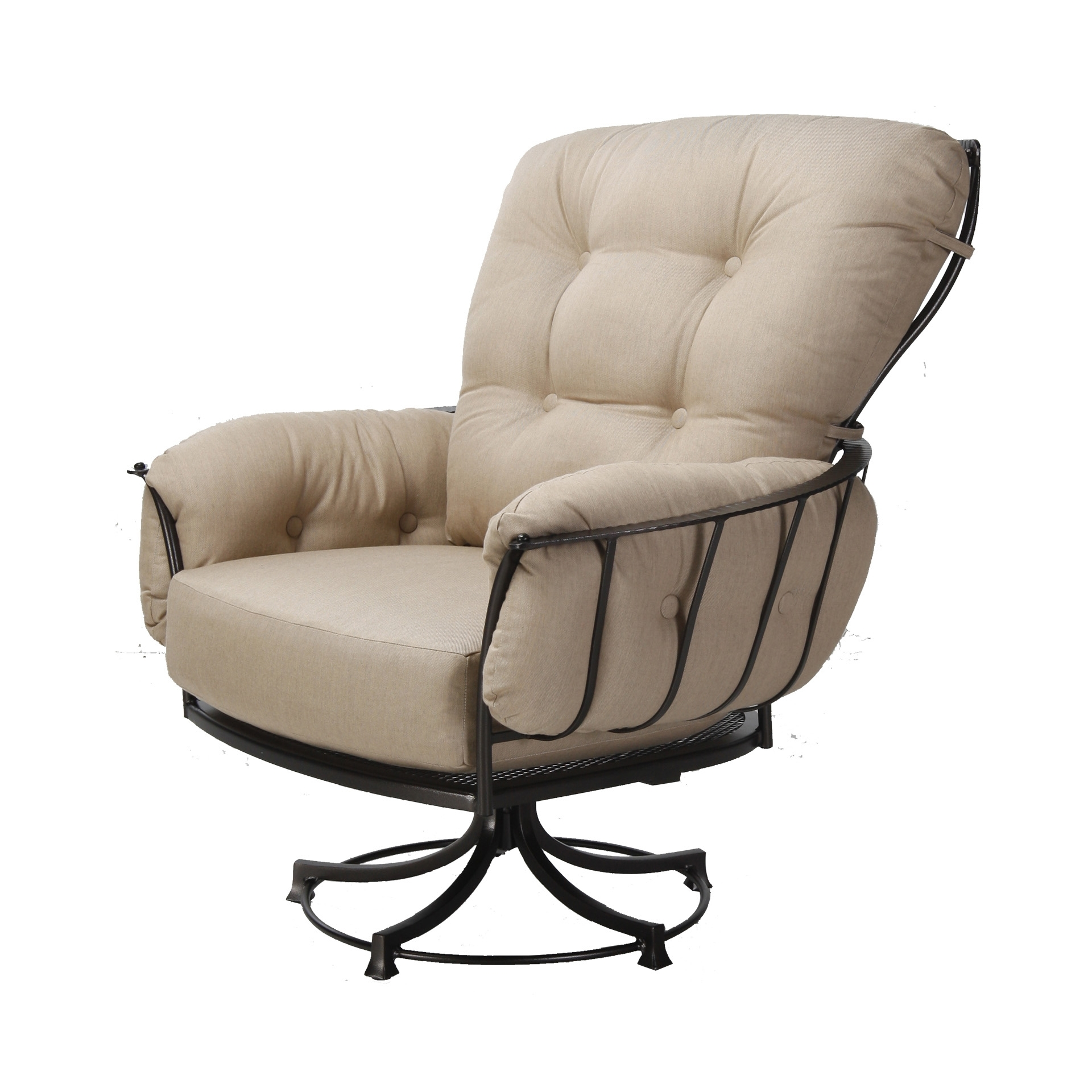 Patio Rocking Swivel Chairs Pertaining To 2017 Swivel Rocker Lounge Chair (View 6 of 15)