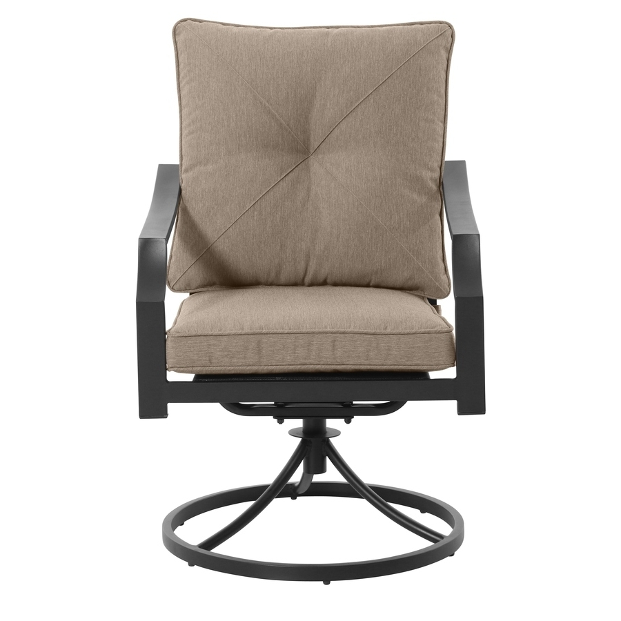 Patio Rocking Swivel Chairs With Most Popular Shop Patio Chairs At Lowes (View 9 of 15)