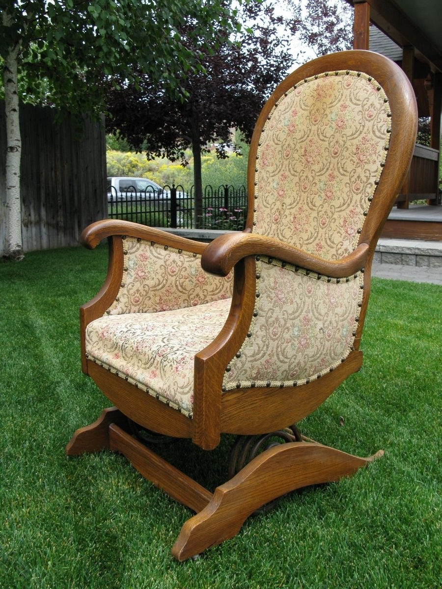 Platform Or Spring Rocking Chair (View 12 of 15)